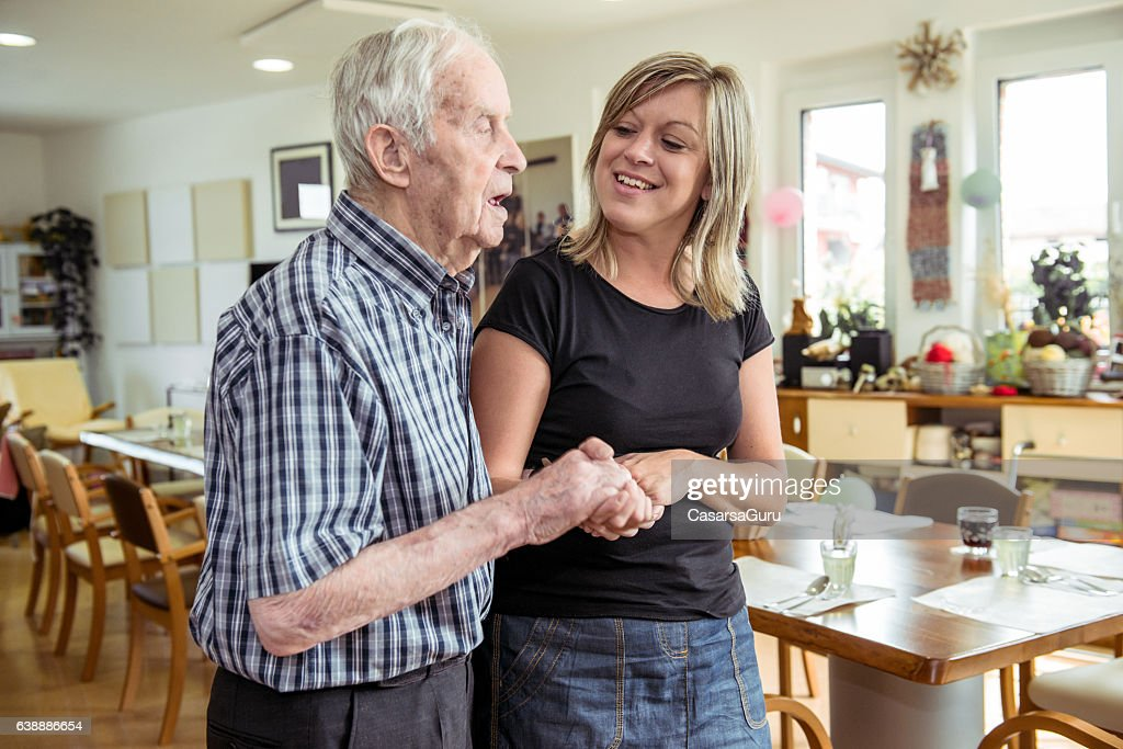 Adult Daycare Center Lifestyle : Stock Photo