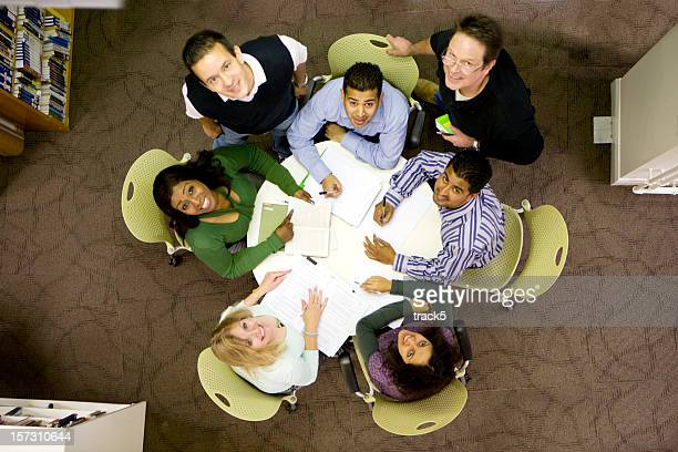 adult education business studies: round table discussion