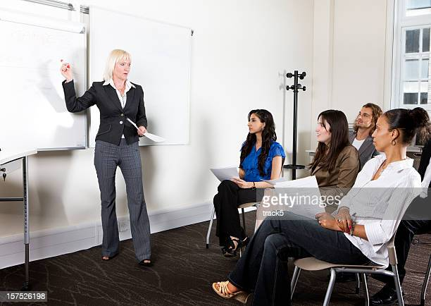 Formation des adultes: Chef d'équipe de faire preuve objectifs