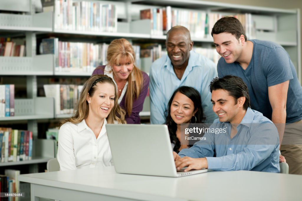 Adult education : Stock Photo