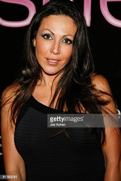 Adult Entertainer Amy Fisher attends day 1 of 2009 Exxxotica New York at the New Jersey Convention and Exposition Center on September 25 2009 in...