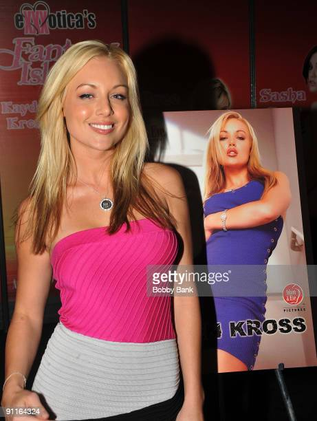 Adult entertainer Kayden Kross attends day 1 of 2009 Exxxotica New York at the New Jersey Convention and Exposition Center on September 25 2009 in...