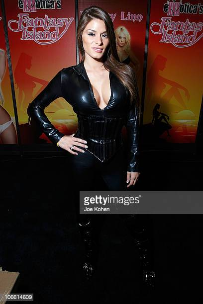 Adult entertainer Madelyn Marie attends Exxxotica Expo 2010 at the New Jersey Convention and Exposition Center on November 6, 2010 in Edison, New...