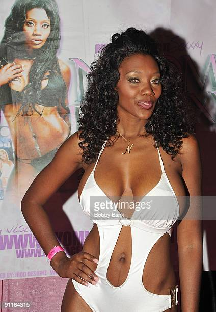 Adult Entertainer Nyomi Banxxx Attends Day  Exxxotica New York At The New Jersey
