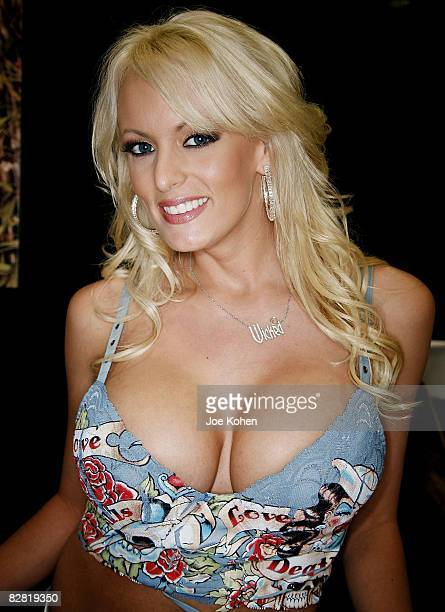 Adult entertainer Stormy Daniels attends 2008 Exxxotica New York at the New Jersey Convention and Exposition Center on September 13 2008 in Edison...