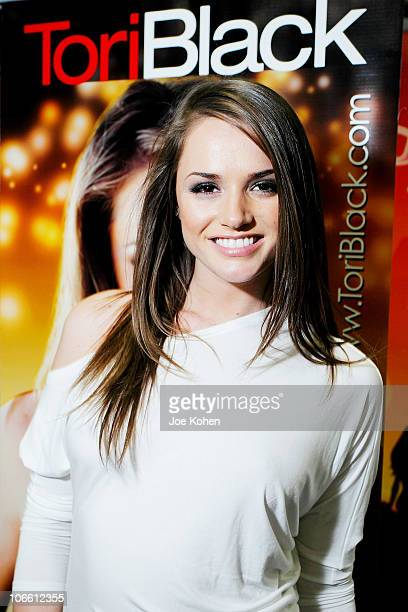 Adult entertainer Tori Black attends Exxxotica Expo 2010 at the New Jersey Convention and Exposition Center on November 6 2010 in Edison New Jersey