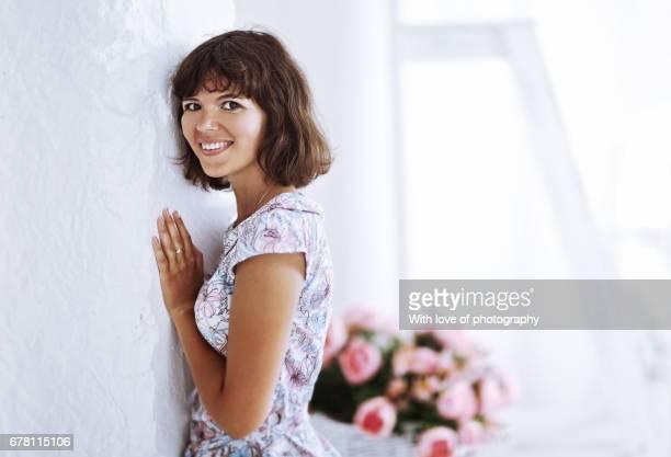 adult female caucasian 28-35 years portrait