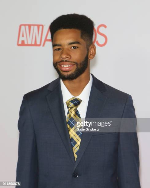 Adult film actor Darren Pierce attends the 2018 Adult Video News Awards at the Hard Rock Hotel Casino on January 27 2018 in Las Vegas Nevada