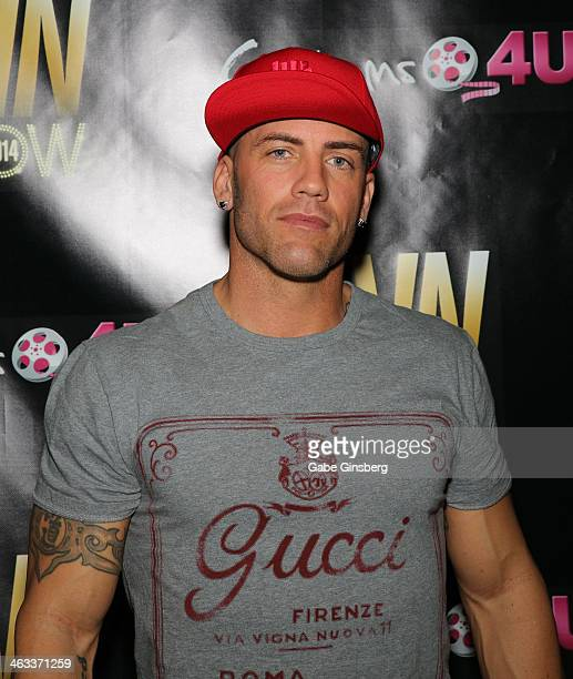 Adult Film Actor Derrick Pierce Attends The 2014 Avn Adult Entertainment Expo At The Hard Rock