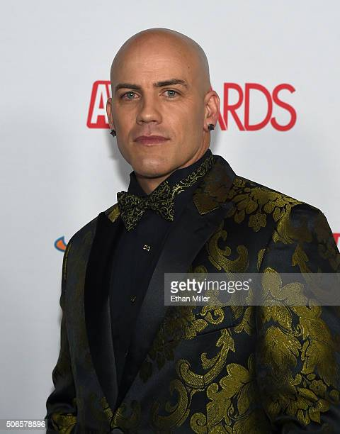 Adult film actor Derrick Pierce attends the 2016 Adult Video News Awards at the Hard Rock Hotel Casino on January 23 2016 in Las Vegas Nevada