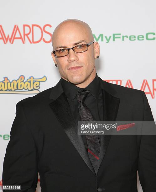 Adult film actor Derrick Pierce attends the 2017 Adult Video News Awards at the Hard Rock Hotel Casino on January 21 2017 in Las Vegas Nevada