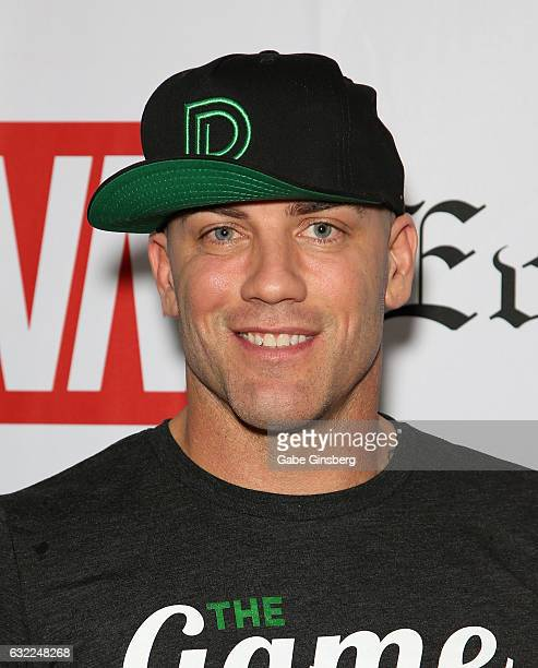 Adult film actor Derrick Pierce attends the 2017 AVN Adult Entertainment Expo at the Hard Rock Hotel Casino on January 20 2017 in Las Vegas Nevada
