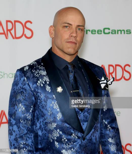 Adult film actor Derrick Pierce attends the 2019 Adult Video News Awards at The Joint inside the Hard Rock Hotel Casino on January 26 2019 in Las...