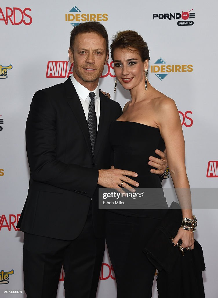 Adult film actor, director and producer Rocco Siffredi and