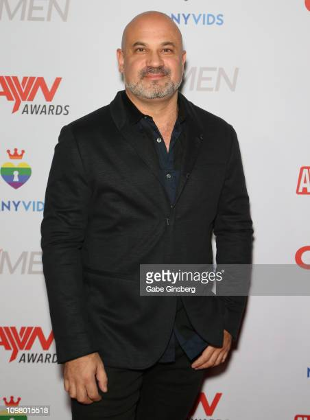 Adult film actor Dominic Ford attends the 2019 GayVN Awards show at The Joint inside the Hard Rock Hotel Casino on January 21 2019 in Las Vegas Nevada