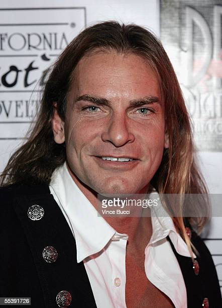 Adult film actor Evan Stone attends the Digital Playground Adam and Eve production of the XXX rated film Pirates on September 12 2005 at the Egyptian...
