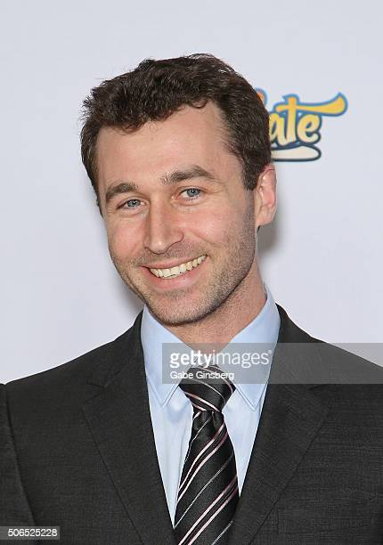Adult film actor James Deen attends the 2016 Adult Video News Awards at the Hard Rock Hotel & Casino on January 23, 2016 in Las Vegas, Nevada.