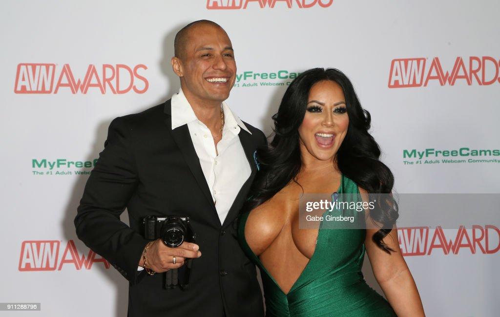 2018 Adult Video News Awards - Arrivals : Fotografía de noticias