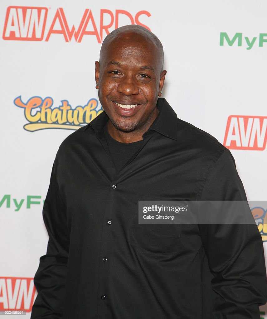 Adult film actor Mandingo attends the 2017 Adult Video