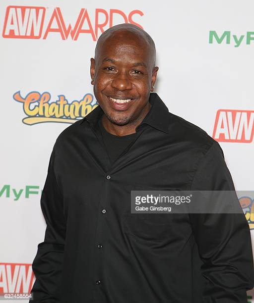 Adult film actor Mandingo attends the 2017 Adult Video News Awards at the Hard Rock Hotel Casino on January 21 2017 in Las Vegas Nevada