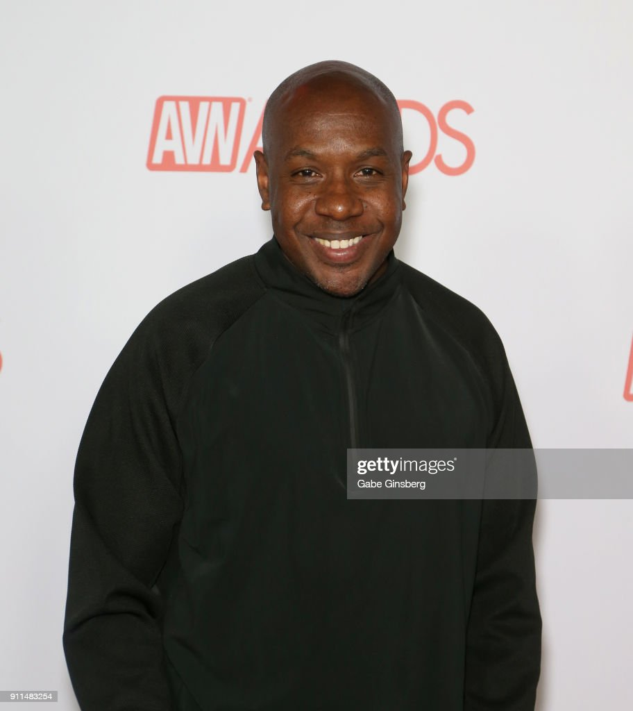 Adult film actor Mandingo attends the 2018 Adult Video