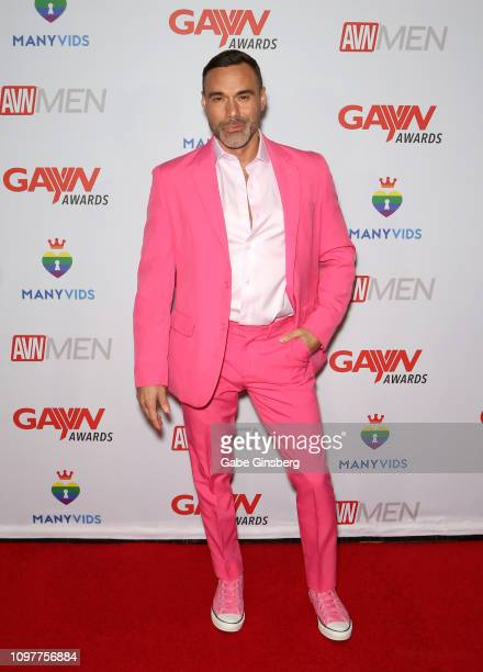 Adult film actor Manuel Skye attends the 2019 GayVN Awards show at The Joint inside the Hard Rock Hotel & Casino on January 21, 2019 in Las Vegas,...