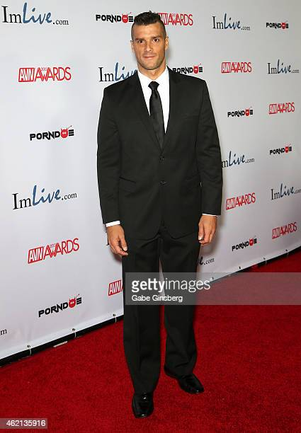 Adult Film Actor Ramon Nomar Arrives At The 2015 Adult Video News Awards At The Hard