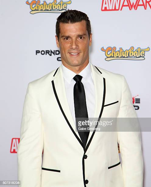 Adult Film Actor Ramon Nomar Attends The 2016 Adult Video News Awards At The Hard Rock