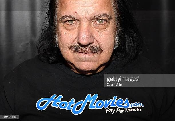 Adult film actor Ron Jeremy appears at the HotMoviescom booth at the 2017 AVN Adult Entertainment Expo at the Hard Rock Hotel Casino on January 18...