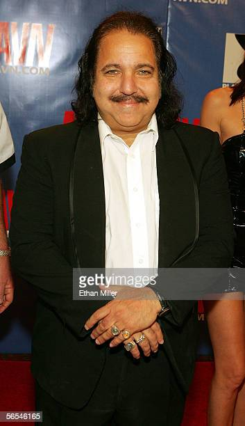 Adult film actor Ron Jeremy arrives at the Adult Video News Awards Show at the Venetian Resort Hotel and Casino January 7 2006 in Las Vegas Nevada
