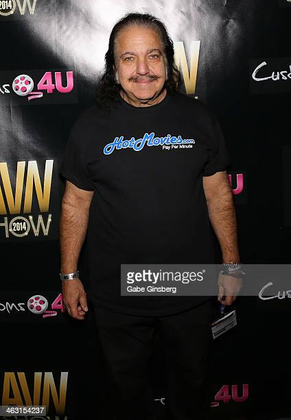 Adult film actor Ron Jeremy attends the 2014 AVN Adult Entertainment Expo at the Hard Rock Hotel Casino on January 16 2014 in Las Vegas Nevada