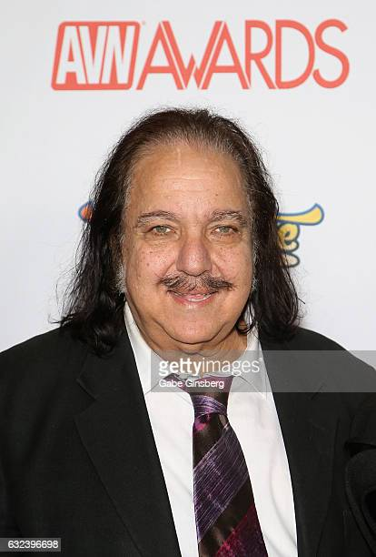 Adult film actor Ron Jeremy attends the 2017 Adult Video News Awards at the Hard Rock Hotel Casino on January 21 2017 in Las Vegas Nevada