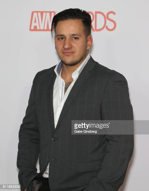 Adult film actor/director Anthony Gaultier attends the 2018 Adult Video News Awards at the Hard Rock Hotel Casino on January 27 2018 in Las Vegas...