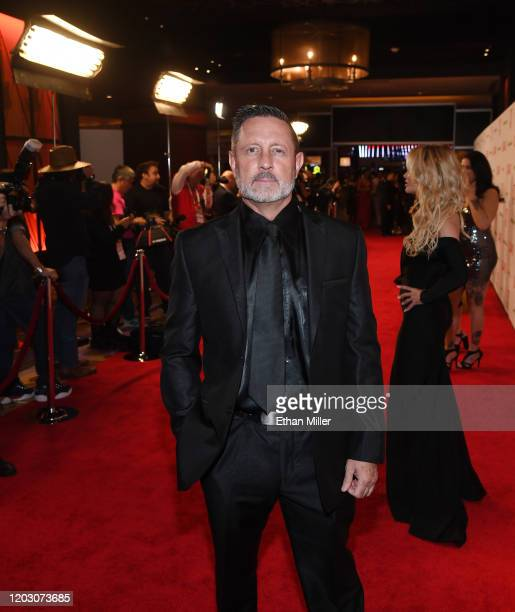 Adult film actor/director Brad Armstrong attends the 2020 Adult Video News Awards at The Joint inside the Hard Rock Hotel Casino on January 25 2020...