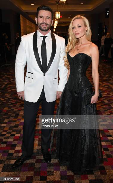 Adult film actor/director Manuel Ferrara and his wife adult film actress Kayden Kross attend the 2018 Adult Video News Awards at the Hard Rock Hotel...