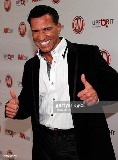 Adult Film Actor Director Marco Banderas Arrives At The Th Annual Adult Video News Awards