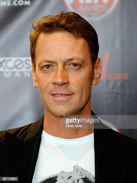 Adult film actor/director Rocco Siffredi arrives at the 27th annual Adult Video News Awards Show at the Palms Casino Resort January 9 2010 in Las...