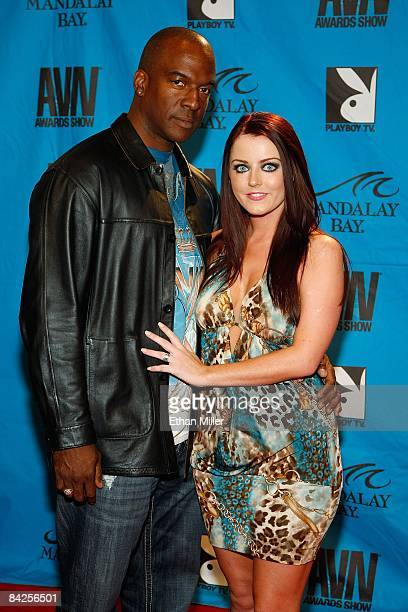Adult film actors Lee Bangs and Sophie Dee arrive at the 26th annual Adult Video News Awards Show at the Mandalay Bay Events Center January 10 2009...