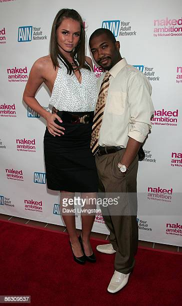 Adult film actors Tori Black and Tee Reel attend the premiere of the documentary Naked Ambition An R Rated Look at an X Rated Industry at Laemmle's...