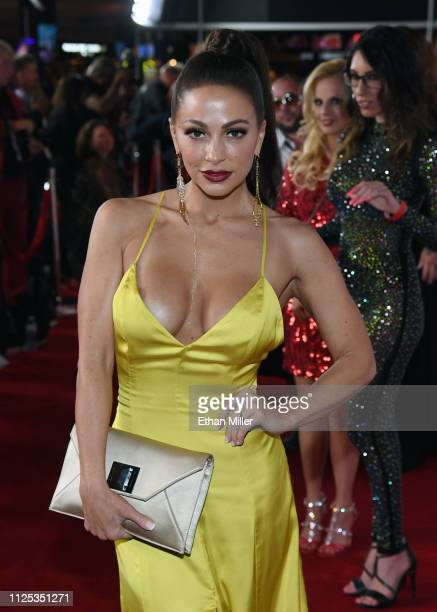 Adult film actress Abigail Mac attends the 2019 Adult Video News Awards at The Joint inside the Hard Rock Hotel Casino on January 26 2019 in Las...
