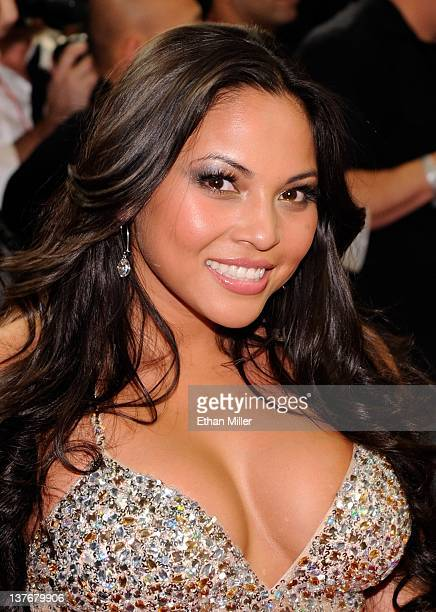 Adult Film Actress Adrianna Luna Arrives At The 29th Annual Adult Video News Awards Show At