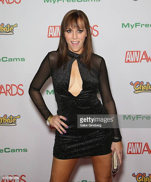 Adult film actress Alana Cruise attends the 2017 Adult Video News Awards at the Hard Rock Hotel Casino on January 21 2017 in Las Vegas Nevada