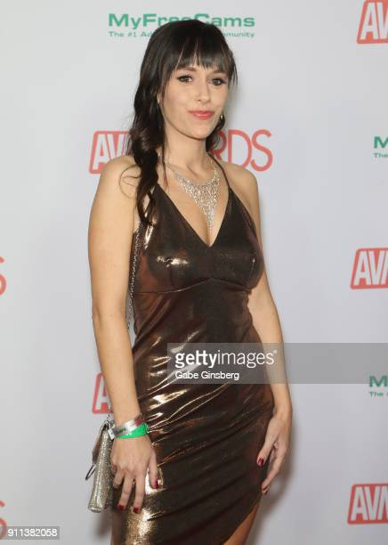 Adult film actress Alana Cruise attends the 2018 Adult Video News Awards at the Hard Rock Hotel Casino on January 27 2018 in Las Vegas Nevada