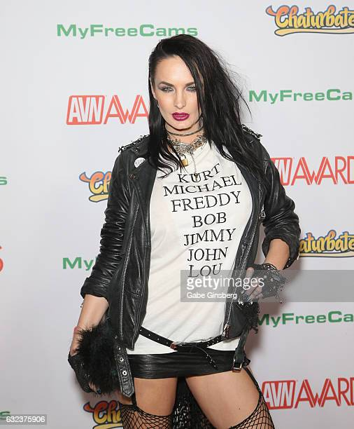 Adult film actress Alektra Blue attends the 2017 Adult Video News Awards at the Hard Rock Hotel Casino on January 21 2017 in Las Vegas Nevada