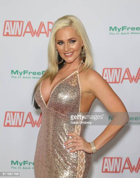 Adult film actress Alena Croft attends the 2018 Adult Video News Awards at the Hard Rock Hotel Casino on January 27 2018 in Las Vegas Nevada