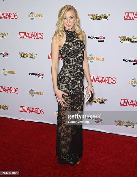 Adult film actress Alexa Grace attends the 2016 Adult Video News Awards at the Hard Rock Hotel Casino on January 23 2016 in Las Vegas Nevada