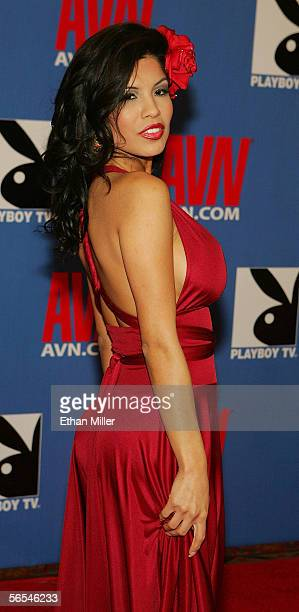 Adult film actress Alexis Amore arrives at the Adult Video News Awards Show at the Venetian Resort Hotel and Casino January 7 2006 in Las Vegas Nevada