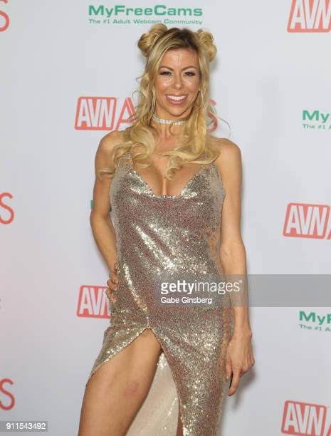 Adult film actress Alexis Fawx attends the 2018 Adult Video News Awards at the Hard Rock Hotel Casino on January 27 2018 in Las Vegas Nevada