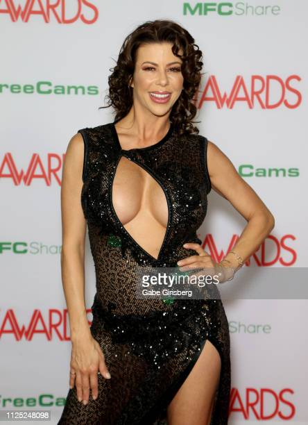 Adult film actress Alexis Fawx attends the 2019 Adult Video News Awards at The Joint inside the Hard Rock Hotel Casino on January 26 2019 in Las...