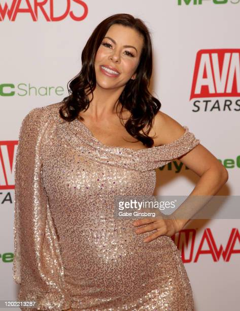 Adult film actress Alexis Fawx attends the 2020 Adult Video News Awards at The Joint inside the Hard Rock Hotel Casino on January 25 2020 in Las...